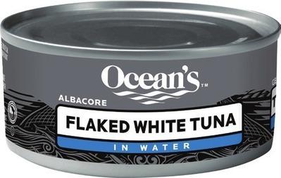 OCEAN'S ALBACORE TUNA OR CLOVER LEAF SKINLESS BONELESS PINK SALMON