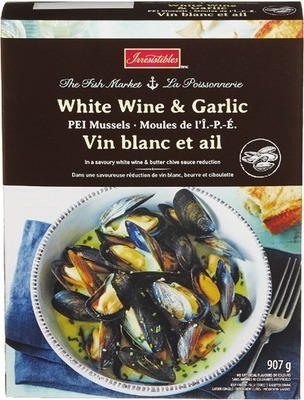 IRRESISTIBLES MARINATED MUSSELS