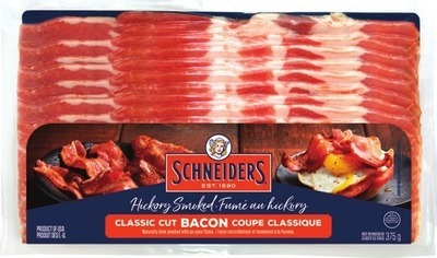 MAPLE LEAF BACON OR SCHNEIDERS BACON