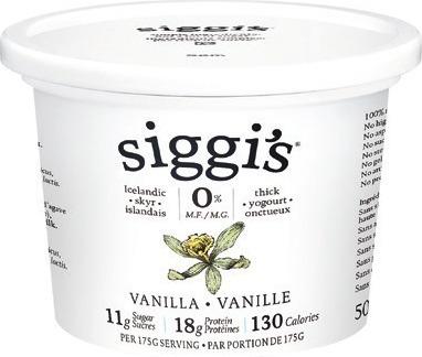 SIGGI'S YOGOURT