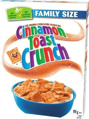 GENERAL MILLS FAMILY SIZE CEREAL
