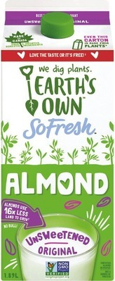 EARTH'S OWN ALMOND BEVERAGE