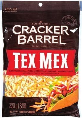 CRACKER BARREL CHEESE BARS 400 G OR SHREDDED CHEESE 300 - 320 G