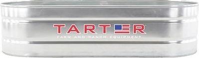 Get Tarter Oval Galvanized Stock Tank 3 Foot x 2 Foot x 8