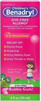 Buy Children's Benadryl Bubble Gum Liquid in New York | Flipp