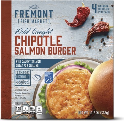 Get Fremont Fish Market Salmon Burger with $4 99 in Houston