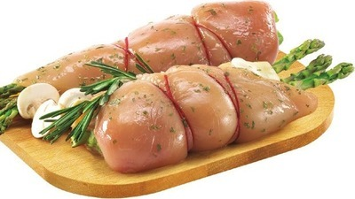 FRESH STUFFED CHICKEN BREAST BONELESS SKINLESS