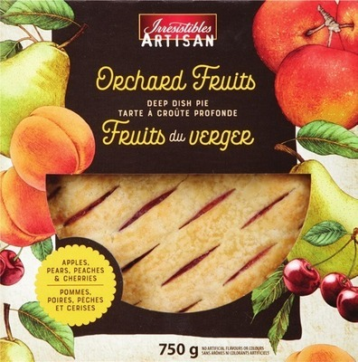 IRRESISTIBLES ORCHARD FRUITS PIE