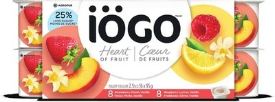 IÖGO YOGOURT 16 X 95 G OR NANO CHEESE 100 G