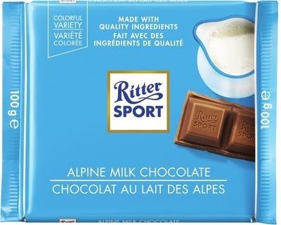 RITTER SPORT CHOCOLATE BARS