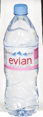 GLACEAU VITAMIN WATER 591 ML OR EVIAN SPRING WATER 1 L