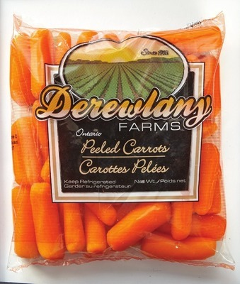 PEELED BABY CUT CARROTS
