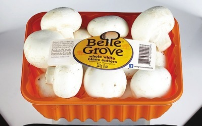 BELLE GROVE WHOLE WHITE OR WHOLE CRIMINI MUSHROOMS