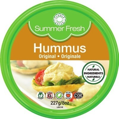 SUMMER FRESH HUMMUS OR DIP