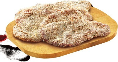 FRESH BREADED CHICKEN OR TURKEY BREAST CUTLETS VALUE PACK