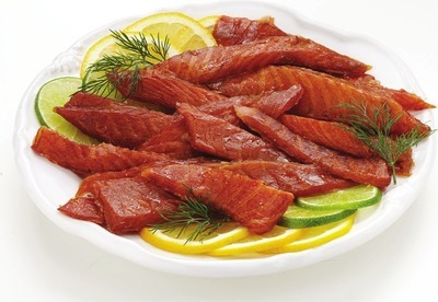 SMOKED ATLANTIC CANDIED SALMON