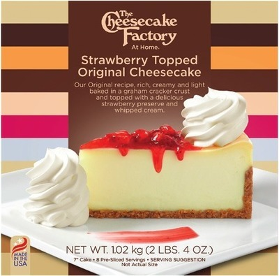 THE CHEESECAKE FACTORY STRAWBERRY CHEESECAKE