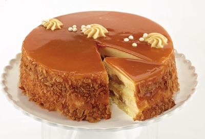 FRONT STREET BAKERY APPLE CARAMEL CAKE