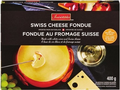IRRESISTIBLES CHEESE FONDUE