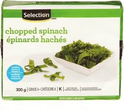 SELECTION FROZEN SPINACH