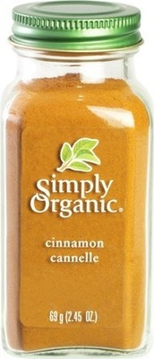 SIMPLY ORGANIC CINNAMON SPICE BOTTLE