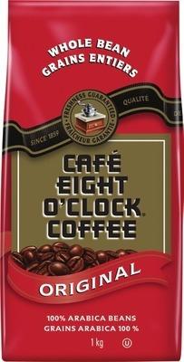 EIGHT O'CLOCK BEAN COFFEE