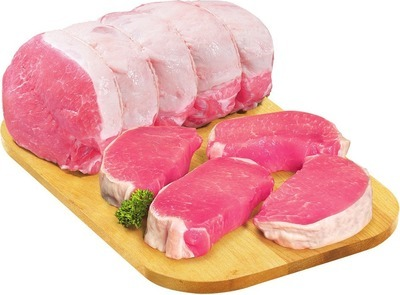 BONELESS PORK LOIN ROAST OR VALUE PACK CHOPS