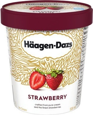 HÄAGEN-DAZS ICE CREAM, FROZEN DESSERT, NOVELTIES OR GOODNORTH ICE MILK