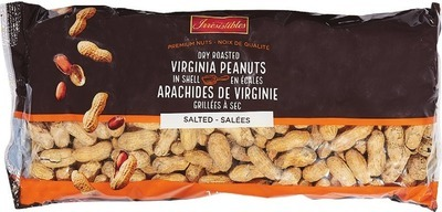 IRRESISTIBLES DRY ROASTED VIRGINIA PEANUTS