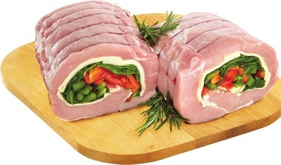BONELESS STUFFED PORK LOIN ROAST OR PINWHEELS
