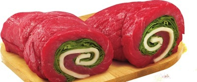PLATIMUM GRILL ANGUS INSIDE ROUND LONDON BROIL, ALOUETTES, PINWHEELS OR STUFFED CUTLETS