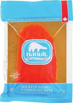 NANUK SMOKED WILD SOCKEYE SALMON