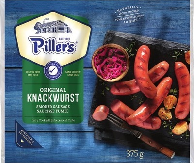 PILLER'S GRILLWURST SMOKED SAUSAGES