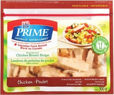 MAPLE LEAF PRIME CHICKEN BREAST STRIPS