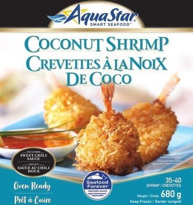 AQUA STAR COCONUT OR POPCORN SHRIMP