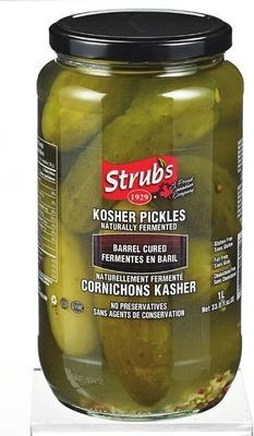 STRUB'S KOSHER DILLS