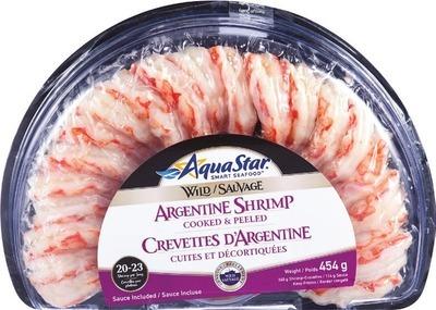 AQUA STAR WILD CAUGHT ARGENTINEAN SHRIMP RING