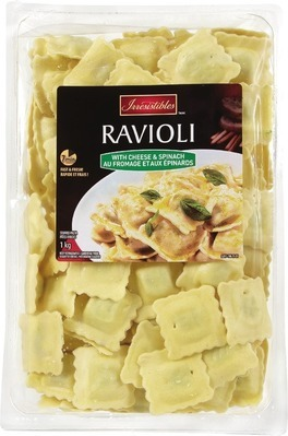 IRRESISTIBLES FRESH STUFFED TORTELLINI OR RAVIOLI PASTA