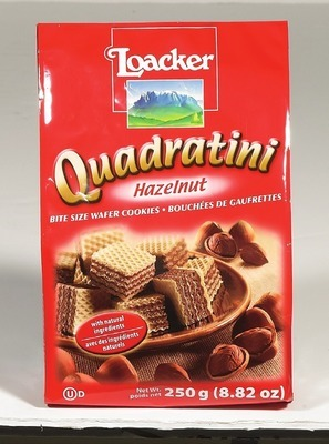 LOACKER QUADRATINI OR COOKIES