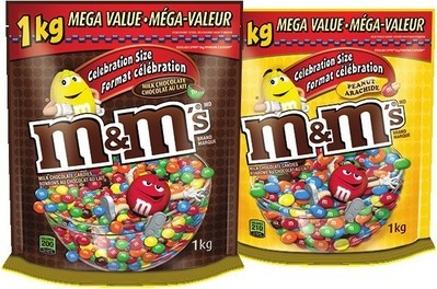 M&M'S CHOCOLATE BAG