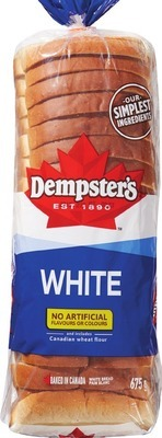 "DEMPSTER'S WHITE, WHOLE WHEAT OR GRAIN BREADS, HOT DOG, HAMBURGER BUNS OR 7"" TORTILLAS"
