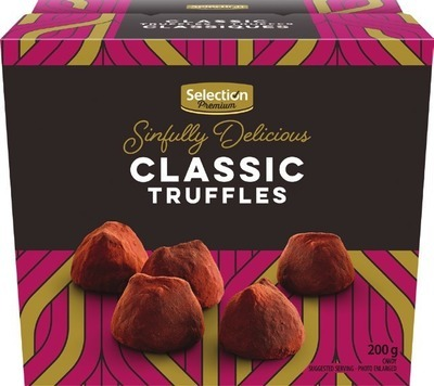 IRRESISTIBLES SHORTBREAD OR SELECTION PREMIUM CHOCOLATE TRUFFLES