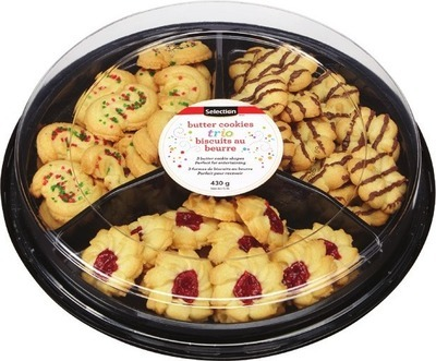 SELECTION BUTTER COOKIES TRIO