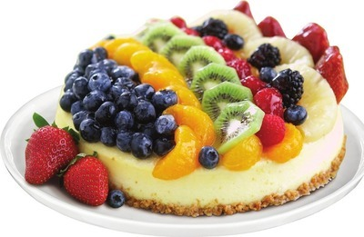 FRONT STREET BAKERY FRUIT TOPPED CHEESECAKE