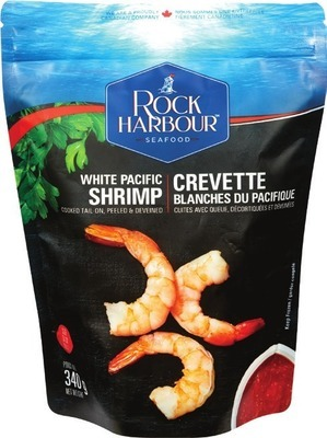ROCK HARBOUR EXTRA LARGE COOKED PACIFIC WHITE SHRIMP