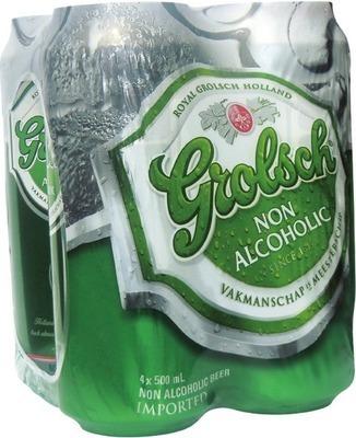 GROLSCH NON ALCOHOLIC BEER