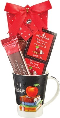 LAURA SECORD TEACHERS MUG SET OR REGAL HOT CHOCOLATE ORNAMENTAL SET