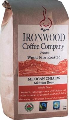 IRONWOOD COFFEE BEANS