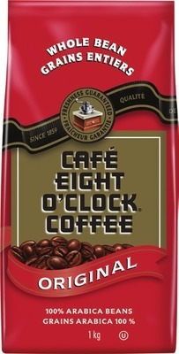 EIGHT O'CLOCK BEAN COFFEE