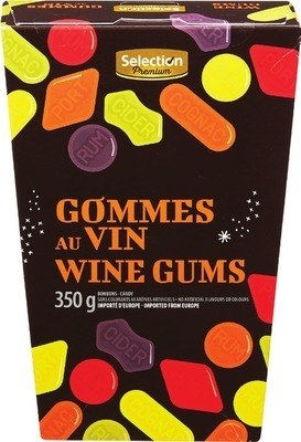 SELECTION PREMIUM WINE GUMS OR LIQUORICE ALLSORTS